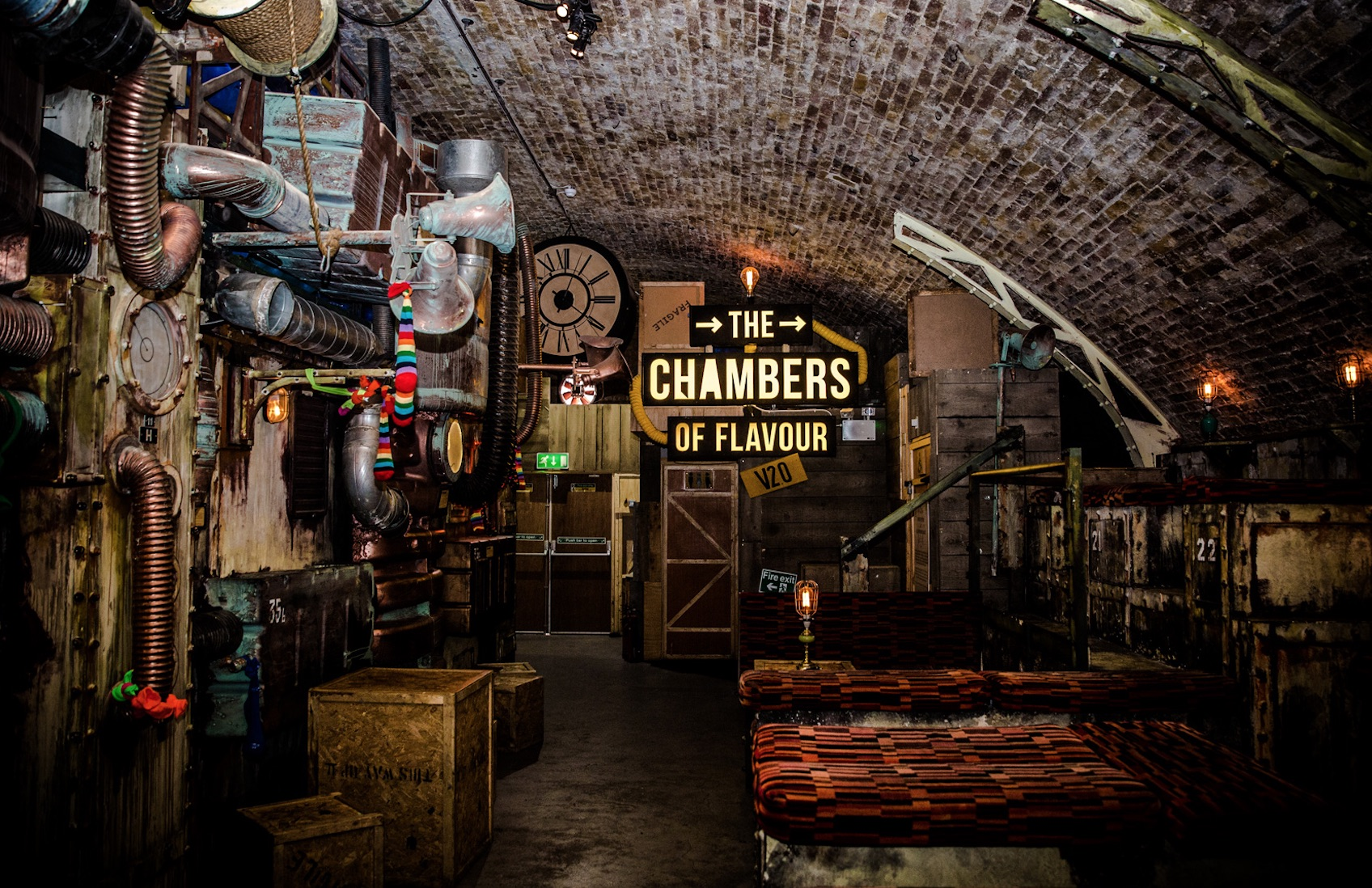 Chambers of Flavour V2